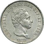 SAVOIA - CARLO FELICE  (1821-1831)  5 Lire ...