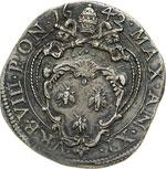 URBANO VIII  (1623-1644)  Testone 1642 A. ...
