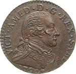 SAVOIA - VITTORIO AMEDEO III  (1773-1796)  5 ...