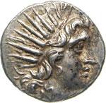 CARIA - RODI -   (170-150 a.C.)  Dracma, ...