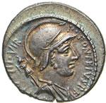FONTEIA - P. Fonteius P.f. Capito  (55 a.C.) ...