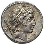 CREPUSIA - Pub. Crepusius  (82 a.C.)  ...