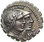 FUFIA - Q. Fufius Calenus e Mucius Cordius  ...