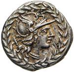 GELLIA - Cn. Gellius  (138 a.C.)  Denario.   ...