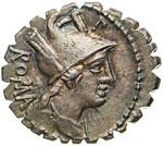 POBLICIA - C. Poblicius Q.f.  (80 a.C.)  ...