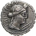 MARIA - C. Marius C.f. Capito  (81 a.C.)  ...