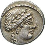 HOSTILIA - L. Hostilius Saserna  (48 a.C.)  ...