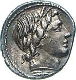 ANONIME  (86 a.C.)  Denario.   B. 226   Syd. ...