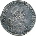 PAOLO III  (1534-1559)  Bianco, Bologna.  D/ ...