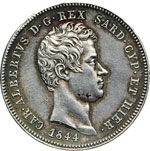 SAVOIA - CARLO ALBERTO  (1831-1849)  2 Lire ...