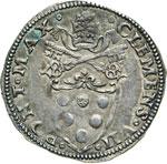 CLEMENTE VII  (1523-1534)  Giulio s.d., ...