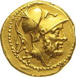 ANONIME  (dal 211 a.C.)  60 Assi.  D/ Testa ...