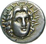 CARIA - RODI -   (305-275 a.C.)  Didramma.  ...