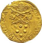 CLEMENTE VII  (1523-1534)  Scudo doro, ...