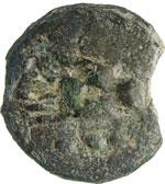 ANONIME  (289-245 a.C.)  Quadrante.  D/ Due ...