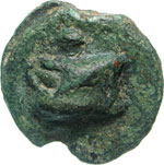 ANONIME  (289-245 a.C.)  Oncia.  D/ ...