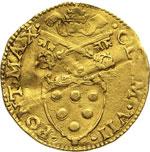 CLEMENTE VII  (1523-1534)  Scudo doro del ...