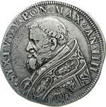 SISTO V  (1585-1590)  Piastra 1588 A. IIII.  ...