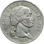 SAVOIA - VITTORIO EMANUELE I  (1802-1821)  5 ...