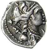 GALLIA - MASSALIA -   (100-49 a.C.)  Dracma ...
