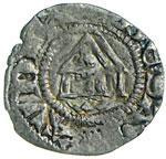 LUDOVICO DI VAUD  (1286-1302)  Denaro con il ...
