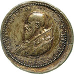 PAOLO III  (1534-1549)  Med. A. IV, 1638.  ...