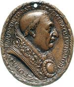 PAOLO II  (1464-1471)  Med. s.d. ovale con ...