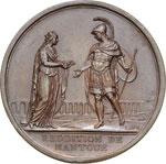 Mantova resa ai francesi 1797 conio Milano, ...