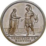 Mantova resa ai francesi 1797 conio Parigi, ...