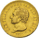 SAVOIA - CARLO FELICE  (1821-1831)  40 Lire ...