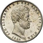 SAVOIA - CARLO ALBERTO  (1831-1849)  5 Lire ...