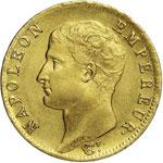 NAPOLEONE I  (1804-1814)  20 Franchi 1806 A ...