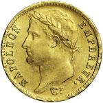 NAPOLEONE I  (1804-1814)  20 Franchi 1810 A ...