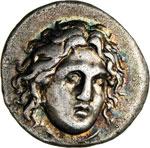 CARIA - RODI -   (304-304 a.C.)  Didramma.  ...