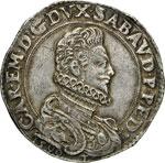 CARLO EMANUELE I  (1580-1630)  Ducatone 1590 ...