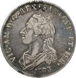 VITTORIO AMEDEO III  (1773-1796)  Scudo da 6 ...