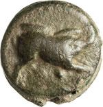 ANONIME  (270 a.C. circa)  Quadrante.  D/ ...