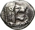 CARIA - KNIDOS -   (500-490 a.C.)  Dracma.  ...