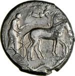 SICILIA - SYRACUSAE -   (474-450 a.C.)  ...