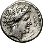SICILIA - SICULO/PUNICHE -   (350-330 a.C.)  ...