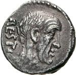 ANTIA - C. Antius C.f. Restio  (47 a.C.)  ...