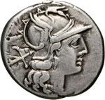 AUTRONIA - L. Autronius  (189-180 a.C.)  ...