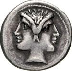 ROMANO-CAMPANE  (225-212 a.C.)  Dramma o ...