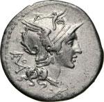 DIDIA - T. Deidius  (113-112 a.C.)  Denario. ...