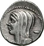 CASSIA - L. Cassius Longinus  (63 a.C.)  ...