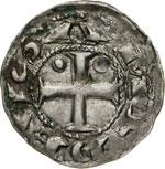 AMEDEO III il Crociato  (1103-1148)  Denaro ...