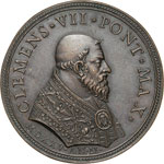 CLEMENTE VII  (1523-1534)  Med. A. II, 1525 ...
