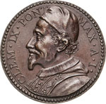 CLEMENTE IX  (1667-1669)  Med. A. I ...