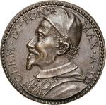 CLEMENTE IX  (1667-1669)  Med. A. III San ...