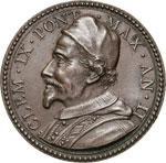 CLEMENTE IX  (1667-1669)  Med. A. II Pace ...